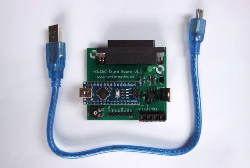 MDLCNC ICE USB Interface (Styroporschneidesoftware ICE)